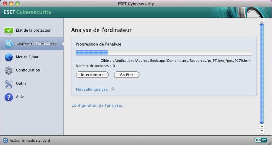 FONCTIONALITES D'ESET CYBERSECURITY