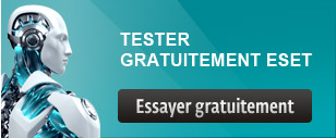 Eset version d'essai